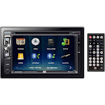 Dual XDVD276BT Double Din 6.2 Inch Lcd Screen Dvd Bluetooth Usb