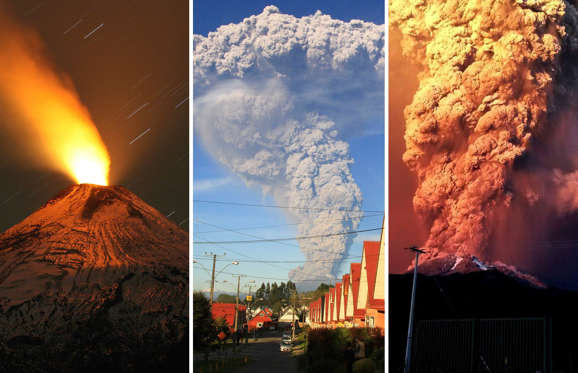 Chilean Calbuco volcano eruption: In Pictures