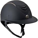 One K Avance Rose Gold Helmet - BLACK MATTE\LARGE