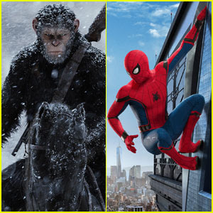 'War for the Planet of the Apes' Beats 'Spider-Man: Homecoming' at Weekend Box Office
