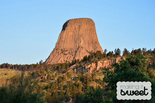 2015 Road Trip: Devil's Tower, Mt. Rushmore and The Badlands - Making it Sweet
