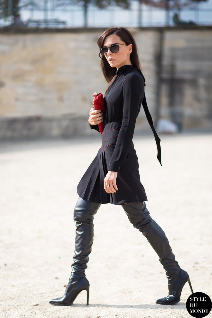 Evangelie Smyrniotaki StyleHeroine Street Style Street Fashion Streetsnaps by STYLEDUMONDE Street Style Fashion Blog