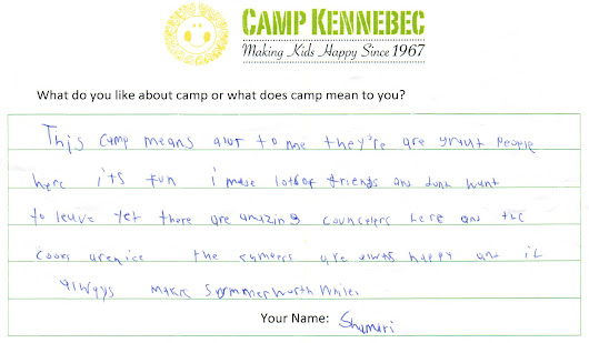 Camper Testimonials In Their Own Words | Camp Kennebec