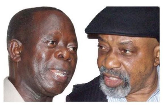 Oshiomhole Threatens To Sack Buhari's Minister From APC