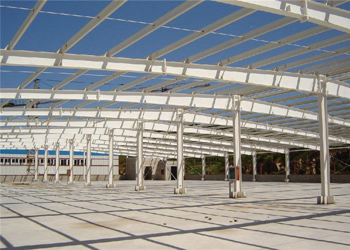 Konstruksi Murah Bahan Bangunan Desain Struktur Baja Prefabrikasi Gudang Bengkel Untuk Dijual