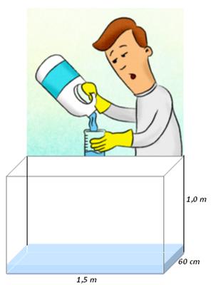Problema Para Ajudar Na Escola Limpeza Da Caixa D Agua Clubes De Matematica Da Obmep