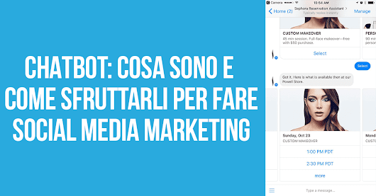 Chatbot: un nuovo, potente strumento di social media marketing