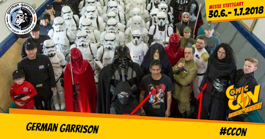German Garrison - CCON | COMIC CON GERMANY
