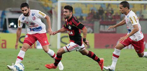 Pelo jogo da ida da terceira fase da Copa do Brasil, o Timbu se defendeu bem / Foto: Divulgação/Flamengo