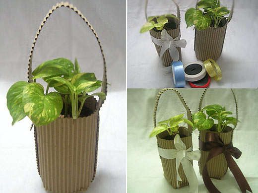 Some Good Ideas For Handmade Green Gifts