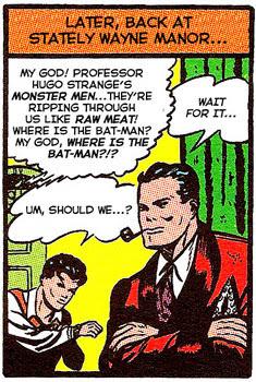 Batman #1 panel