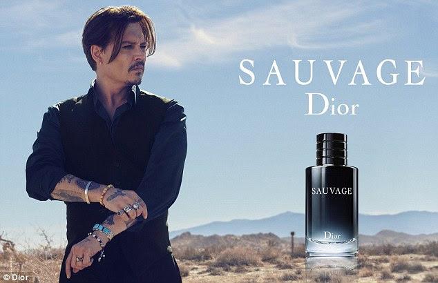 """Inapropriado? O australiano Advertising Standards Bureau recebeu supostamente 'um par de queixas """"sobre a campanha Sauvage com Johnny Depp"""