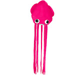 Giant Squid Hat Neon Colors Long Tentacles Big Eyes Funny Cap Costume Accessory