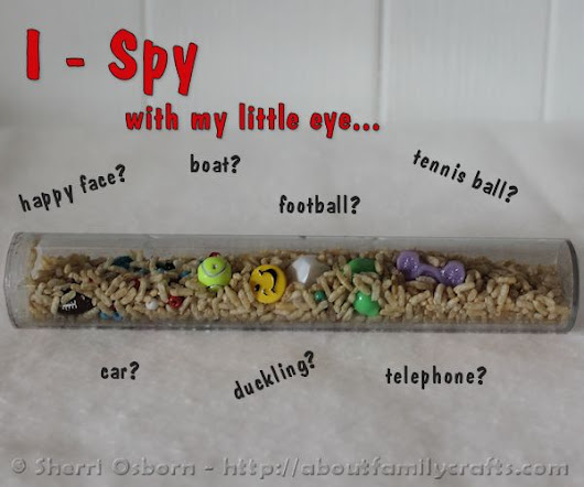 How to Make an I-Spy Game – About Family Crafts