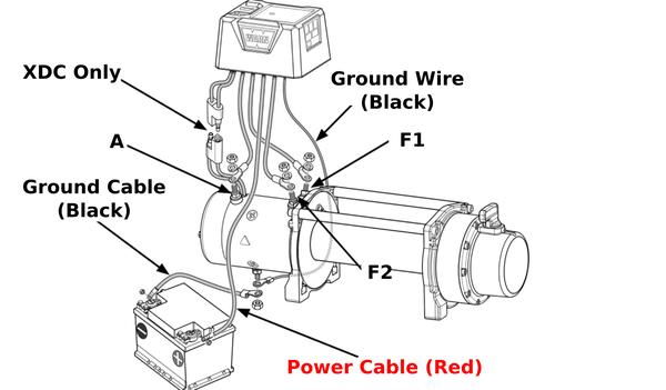 Power Winch Wiring Diagram