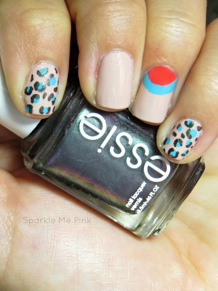 EASY Nail Airt tutorial for beginners from @SparkleMePink8 and #WalgreensBeauty  #SoFab #shop