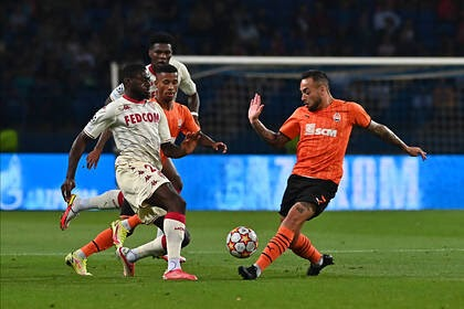 Донецкий «Шахтер» выбил «Монако» Головина из Лиги чемпионов