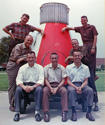 Wally Schirra Collection Photo by San Diego Air & Space Museum Archives