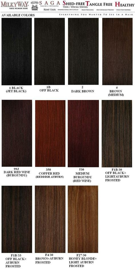 weave hair color chart sovinsl weave hair color hair color chart hair color  black hair