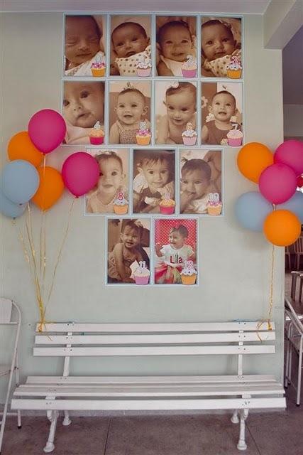 Mural De Fotos Em Festa De Aniversario