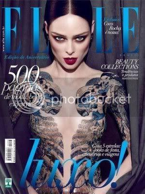 Coco Rocha Elle Brazil May 2012 Cover