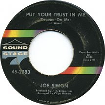 45cat Joe Simon Put Your Trust In Me Depend On Me Just A