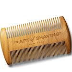 The Art of Shaving Sandalwood Beard Comb