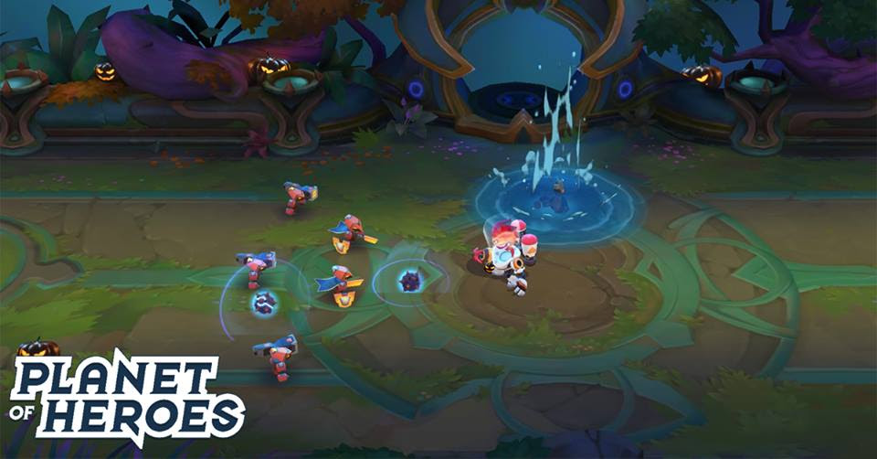chơi game Planet Of Heroes cho pc