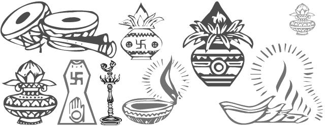 Hindu Wedding Card Clipart Png
