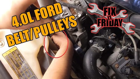 How To Replace Serpentine Belt On Ford Explorer