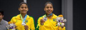 Morro da Chacrinha teve duas atletas medalhistas