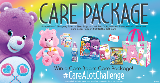 Care Bears Care Prize Package