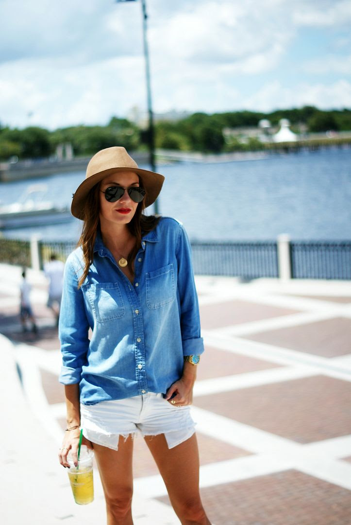 Casual Chambray Outfit