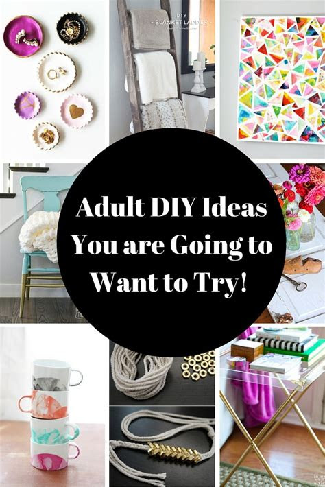 crafts  adult diy projects    rage youve