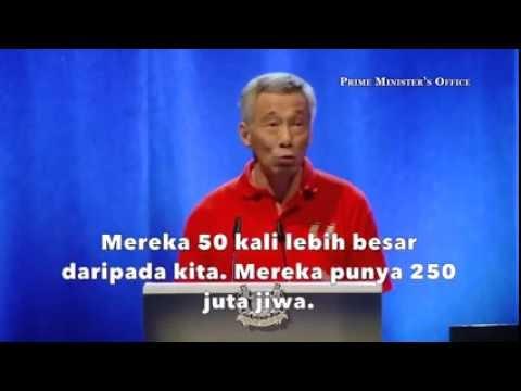 Kesombongan PM Singapura Mentertawakan Indonesia