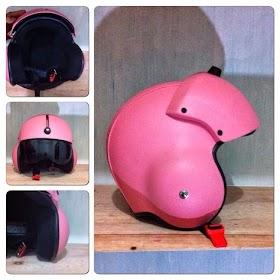 Gambar Helm Warna Pink