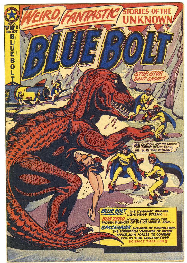 Blue Bolt #107 (Star Publications, 1950)