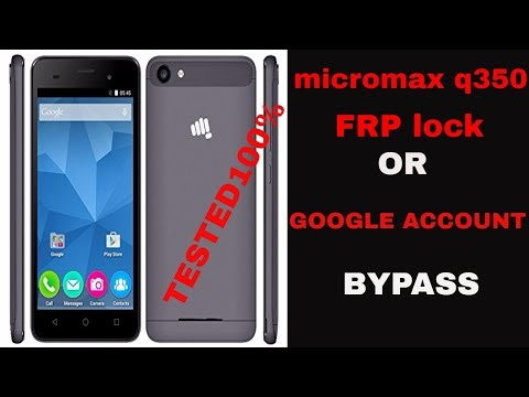 how to remove micromax q350 frp lock solution 100% - Hack