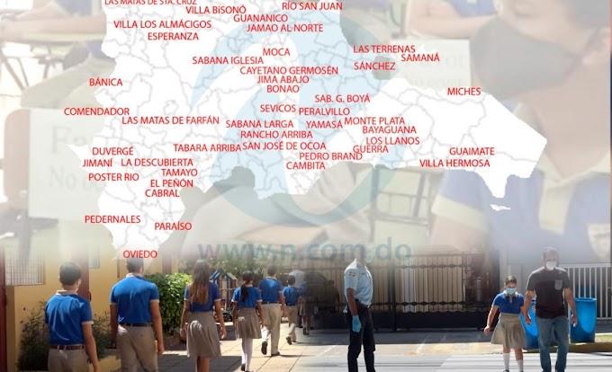 HOY RETORNAN A LAS AULAS ESTUDIANTES DE PRIMERA INFANCIA, INICIAL Y PRIMARIA EN 48 MUNICIPIOS
