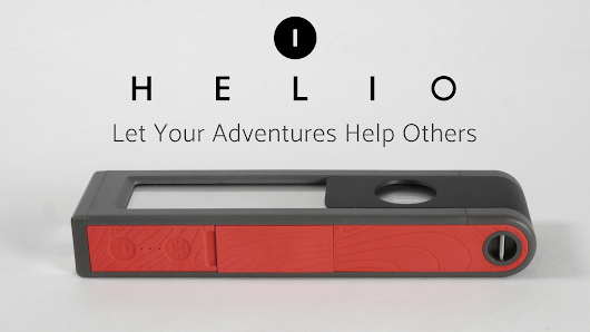 HELIO: Solar Light & Powerbank for Adventures & Emergencies