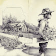 The Natural and Urban Collide in the Drawings of Pat Perry | Colossal