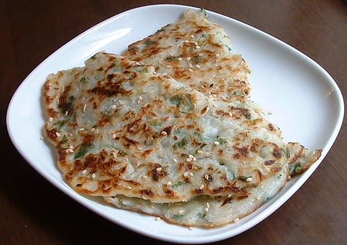 One Hot Stove: Cucumber Pancakes