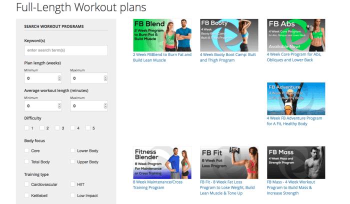 Madison : Fitness blender workout plan reddit