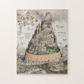 Cul de Sac and Adjacent Places Puzzle