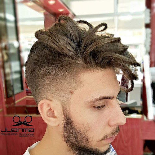 juanmapeluka_high fade and long sectioned hair on top and fringe