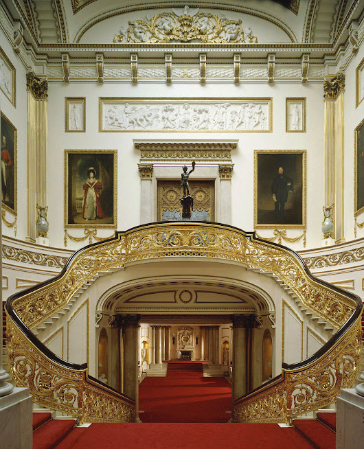 Inside Buckingham Palace | iDesignArch | Interior Design, Architecture & Interior Decorating eMagazine