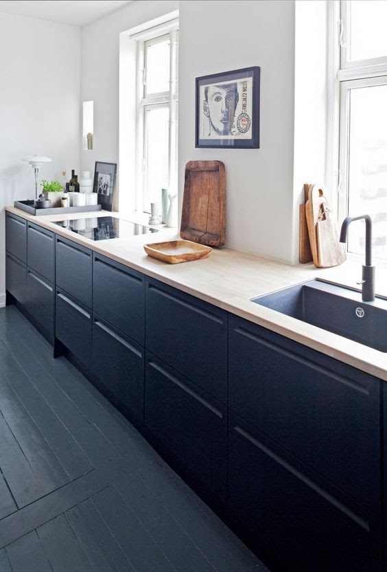 Royal Blue Kitchens
