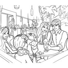 980 Barbie And Ken Coloring Pages To Print Pictures