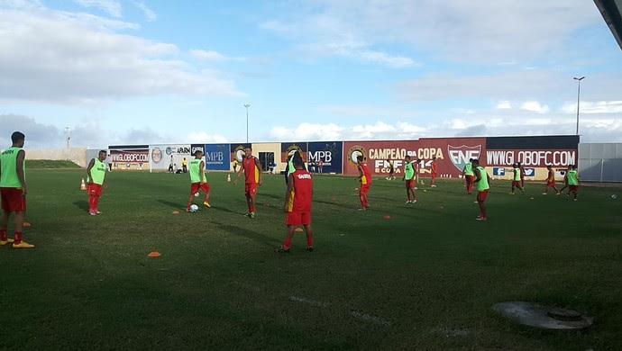 Treino Globo FC (Foto: Divulgação)