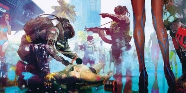 Cyberpunk 2077 Promises Stunning Character Creation, Male ...